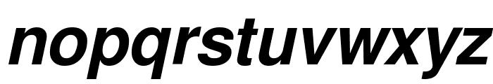 Free Sans Bold Oblique Font LOWERCASE