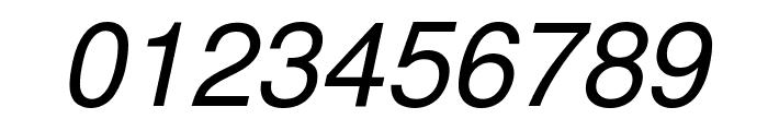 Free Sans Oblique Font OTHER CHARS