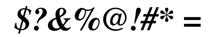Free Serif Bold Italic Font OTHER CHARS