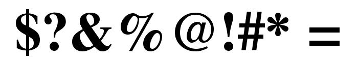Free Serif Bold Font OTHER CHARS