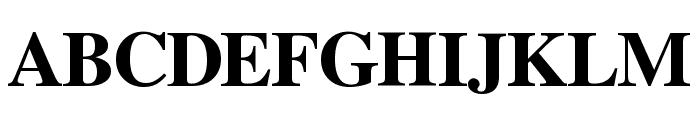 Free Serif Bold Font UPPERCASE