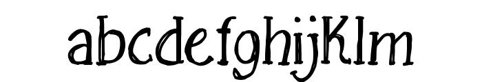 Free Sketching_free-demo Font LOWERCASE