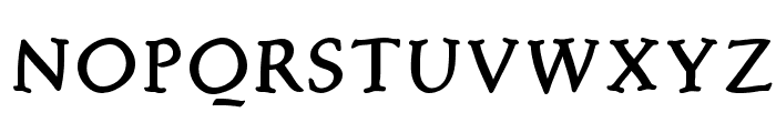 FreeBradbury Font UPPERCASE