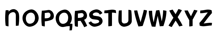 FreeBradburySans Medium Font UPPERCASE