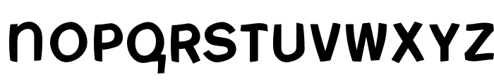 FreeBradburySans Medium Font LOWERCASE