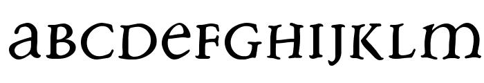FreeBradbury Font LOWERCASE