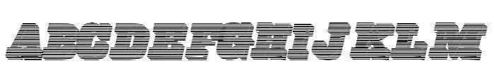 FreeLine Font UPPERCASE
