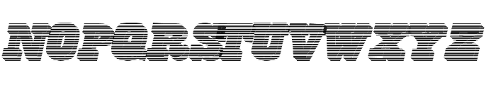 FreeLine Font LOWERCASE