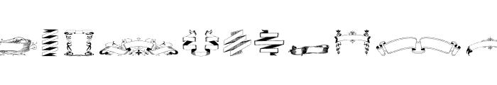 FreeRibbons Font UPPERCASE