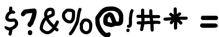 FreeSchool Font OTHER CHARS