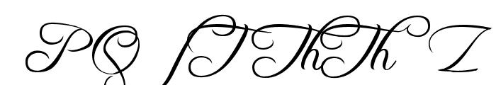 Freebooter Script - Alts Font UPPERCASE
