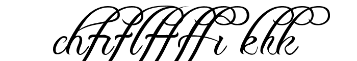 Freebooter Script - Alts Font LOWERCASE