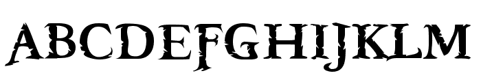 Freebooter Font UPPERCASE