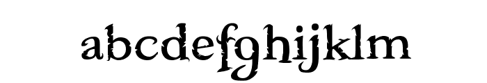 Freebooter Font LOWERCASE