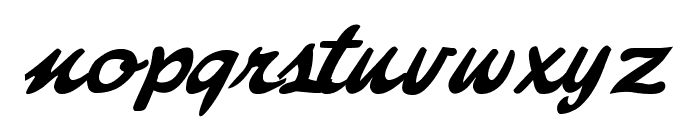 Freebrush Script Font LOWERCASE