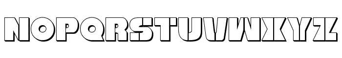 Freedom Fighter 3D Regular Font UPPERCASE