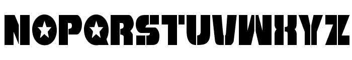 Freedom Fighter Condensed Font LOWERCASE