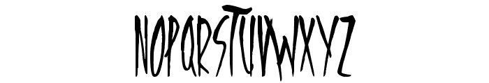 Freedom Fighters Font UPPERCASE