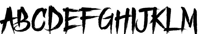 Freedoomed Demo Font LOWERCASE
