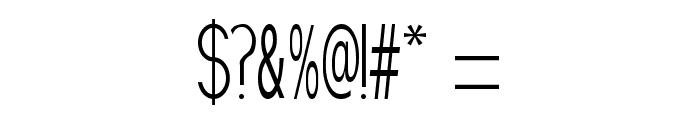 Freeds Regular Font OTHER CHARS