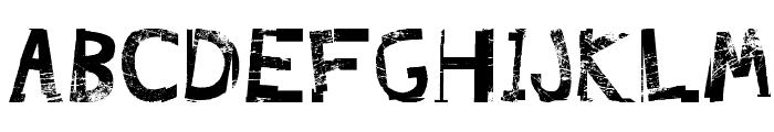 FreekTure Font UPPERCASE