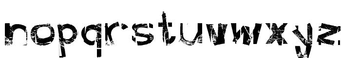 FreekTure Font LOWERCASE
