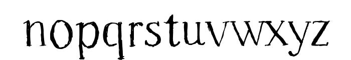 Freeride Font LOWERCASE