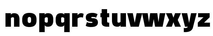 Freeroad Black Font LOWERCASE