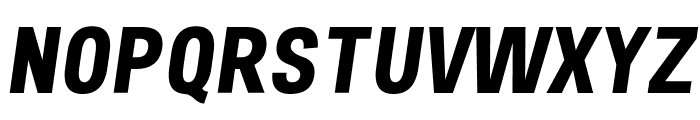Freeroad Bold Italic Font UPPERCASE