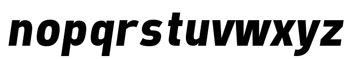 Freeroad Bold Italic Font LOWERCASE