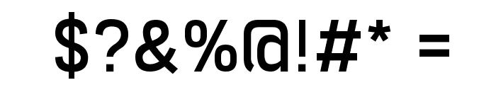 Freeroad Regular Font OTHER CHARS