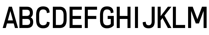 Freeroad Regular Font UPPERCASE