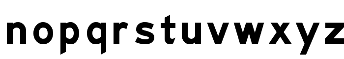 Freeway Gothic Font LOWERCASE