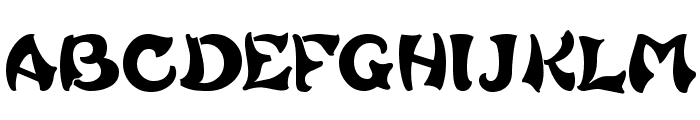 French Grotesque Font UPPERCASE