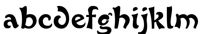 French Grotesque Font LOWERCASE