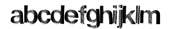 FrenchDisco Font LOWERCASE