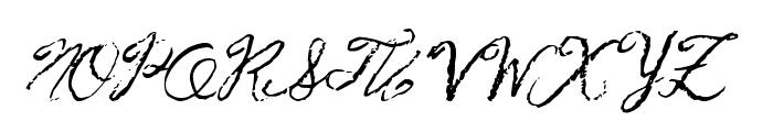 FrenchPirates Font UPPERCASE