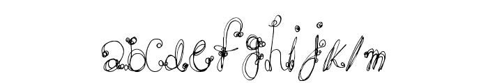 FrenchSugar Font LOWERCASE
