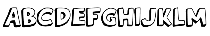French_Fries Font UPPERCASE