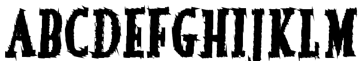 French Font LOWERCASE