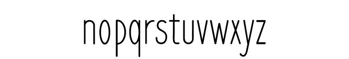 Frenchpress Font LOWERCASE