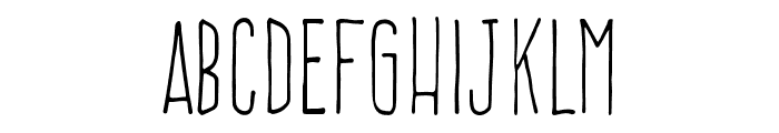 FrenteH1-Regular Font UPPERCASE