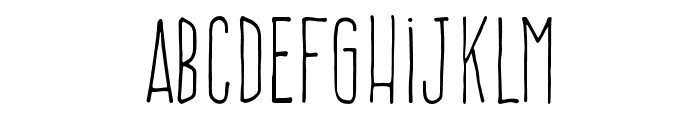 FrenteH1-Regular Font LOWERCASE
