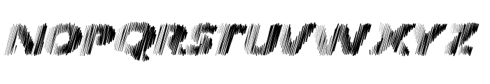Frequency Font UPPERCASE