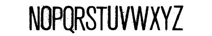 Fresco Stamp Font UPPERCASE