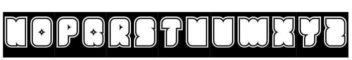 Fresh Mint-Inverse Font UPPERCASE