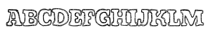 FreshCandies Font UPPERCASE