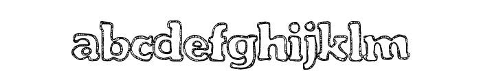 FreshCandies Font LOWERCASE