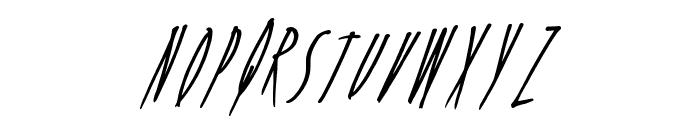 FreshCandy Font UPPERCASE