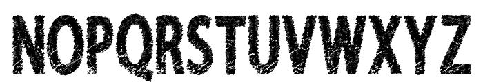 FreshRiot Font UPPERCASE